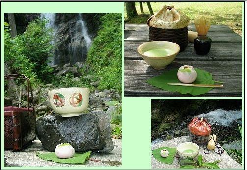山や海、公園でお茶を楽しみましょう